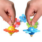 Novelty Wooden Colorful Doll Spinning Top Kid Wood Children's Party Toy Fun Gift