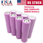 4PC For Samsung 30Q 3000mAh 18650 IMR 15A High Drain Rechargeable Vape5 Battery