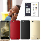 "Cheap 5.0"" Unlocked Mobile Smart Phone Android 7.0 Quad Core Dual Sim Gps 3g New"