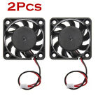 2Pcs 12V Mini Cooling Computer Fan - Small 40mm x 10mm DC Brushless 2-pin US NEW