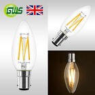 4W Vintage B15 Small Bayonet LED Candle Shape Filament Flame Tip Bulb Industrial