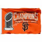 San Francisco Giants Flag 3X5 Banner World Series Champions 2010 2012 2014 on Ebay