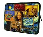 "LUXBURG 8""-17"" Inch Design Laptop Notebook Sleeve Soft Case Bag Cover"