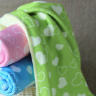 25x50cm Super Absorbent Microfiber Printing Child Hand Face Cleaner Heart Towel