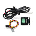 NEW DS18B20 Temperature Sensor Probe WaterProof Plugable Terminal Adapter Module