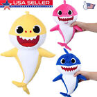 Cartoon PinkFong Plush Fox Sharks Dolls Children Baby Animal Baby Kid Toys USA