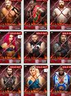 WWE Topps Slam DIGITAL 2016 Hell in a Cell Red YOU PICK ONE Complete YOUR Set