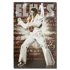 ELVIS PRESLEY Rock and Roll Music Silk Poster The KING 13x20 inch