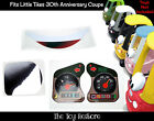 Personalize Replacement Sticker Fits Little Tikes cozy coupe 30th Anniverary car