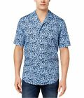 Club Room Mens Floral Button Up Shirt