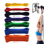 Resistance Exercise Bands Tube Home Gym Fitness Premium Natural Latex Heavy Duty image