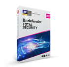 Bitdefender Total Security 2021 5, 10 Devices 1 Year