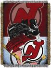 """Devils OFFICIAL National Hockey League, """"Home Ice Advantage"""" 48""""x 60"""" Woven Tape $37.99 USD on eBay"""