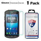 Glasave Clear Tempered Glass Screen Protector For Kyocera DuraForce E6560 E6762