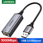 Ugreen Ethernet Adapter USB 3.0 2.0 to RJ45 Lan Network Card for Mac OS, Win 10