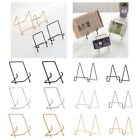 1Pcs Nordic Mini Desktop Metal Plate Essel Stand Rack Picture Frame Holder