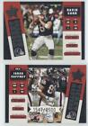 FixedPrice2002 leaf rookies & stars ticket masters /2500 david carr jabar gaffney rookie