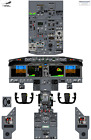 Boeing 737 MAX 8,9,10 Cockpit Training Posters - 100% Accurate 3D Artwork