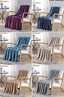 DAMA SOLID VERSATILE SUPER SOFT WARM THROW BLANKET MICRO-PLUSH MULTIPURPOSE image