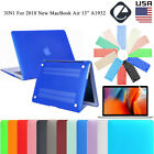 "For 2018 New MacBook Air 13.3"" A1932 Rubberized Shell Case  Keyboard Cover LCD"