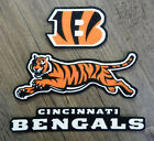 Iron On or Sew On Transfer Applique Cincinnati Bengals Cotton Fabric Patches $5.99 USD on eBay