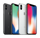 Apple iPhone X 64GB + 256GB Factory ATT T Mobile GSM Unlocked Smartphone