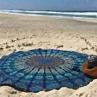 Indian Beach Tapestries Round Mandala Hippie Wall Hanging Tapestry Home Decor J
