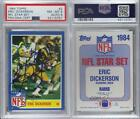 1984 Topps Glossy Inserts 2 Eric Dickerson PSA/DNA Certified Encased Rookie Card