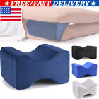 100% Memory Foam Orthopaedic Knee Leg Pillow For Sleeping Cushion Sleepers Rest image