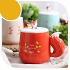 Creative Animal Fox Ceramic Mugs Lovely Breakfast Morning Cute Cups With Handle