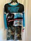 Star Wars Boy's 2 Pc License Blue & Black Sleepwear Pajama Set NWT $8.97 USD on eBay
