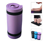 Внешний вид - 15mm Non-Slip Thick Yoga Mat Gym Exercise Fitness Pilates Workout Mat Auxiliary