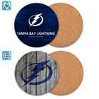 Tampa Bay Lightning Wooden Coaster Mat Placemat Cup Pad Kitchen $3.49 USD on eBay