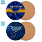 St. Louis Blues Wooden Coaster Mat Placemat Cup Pad Kitchen $3.49 USD on eBay