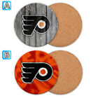 Philadelphia Flyers Wooden Coaster Mat Placemat Cup Pad Kitchen $3.49 USD on eBay