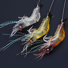 Lots Fishing Lures Crankbaits Hook Bait Tackle Minnow Shrimp 3-4-5-7-8-10Pcs
