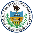 Pennsylvania State Seal Vinyl Flag Decal Sticker  Multiple Sizes To Choose From