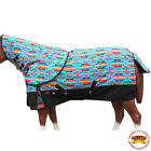 N167- 66- 84 HILASON 1200D WATERPROOF TURNOUT HORSE BLANKET NECK COVER TURQUOISE