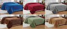 Soft & Warm Plush All Season Popcorn Bed Blanket - ALL SIZES - 6 COLORS image
