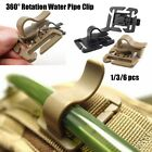 Hiking Accessories Drink Tube Clip EDC Outdoor Carabiner Tactical Buckle