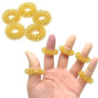 10Pcs Set Finger Massage Ring Acupuncture Acupressure Health Care Body MassagerS