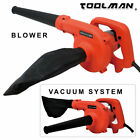 Electric Corded Leaf Blower Vacuum Cleaner Garden Home Yard Hand Power Tool NEW