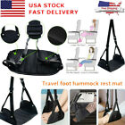 Внешний вид - Foot Rest Portable Travel Footrest Hammock Carry Flight Leg Pillow Pad Airplane