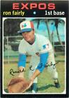 1971 Topps Baseball Card Choose A Player Complete Your Set