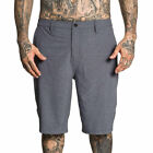 Sullen Men's Complex Hybrid Boardshorts Dk Htr Charcoal Gray Clothing Apparel