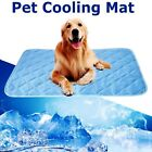 Large Gel Cooling Mat for Dog Cat Pet Self Cooling Pillow Summer Hot Weather Bed
