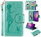 Multifunction 9 cards wallet Photo frame card pocket Mirror leather protect case