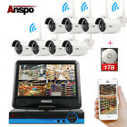 4/8CH WiFi Camera Kit CCTV Security System NVR+10.1