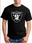 Oakland Raiders T-Shirt Vinyl logo Size Small To 2XL image