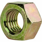Grade 8 Finished Hex Nuts Yellow Chromate Steel All Sizes Available In Listing